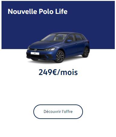 Nouvelle Polo Life
