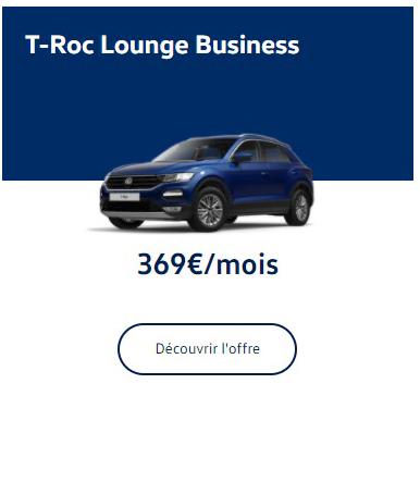 T-Roc Lounge Business