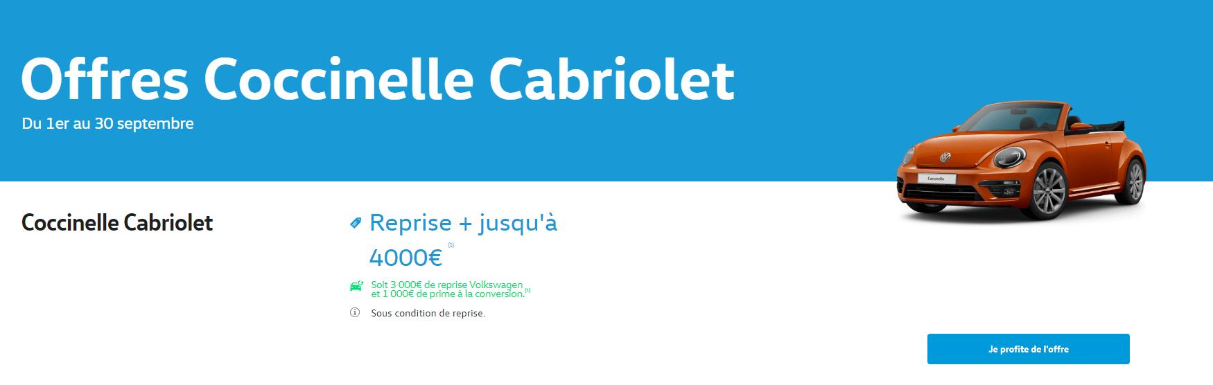 Cocinelle Cabriolet